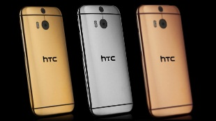 Ngắm phiên bản HTC One M8 mạ vàng và bạch kim lộng lẫy