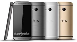 """Ảnh báo chí phiên bản """"mini"""" của HTC One M8"""