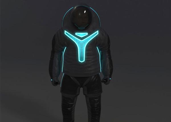 """Sau khi đoạt giải """"Phát minh tuyệt vời nhất năm 2012"""" cho bộ đồ du hành không gian Z-1, NASA đã ra mắt một thiết kế mang đậm màu sắc khoa học viễn tưởng mới cho bộ đồ phi hành gia này."""