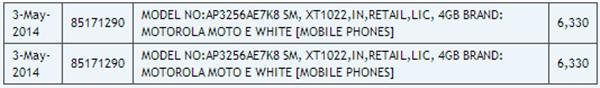 Motorola E phát hành ngày 13 tháng 5, giá bán từ 2.3 triệu đồng