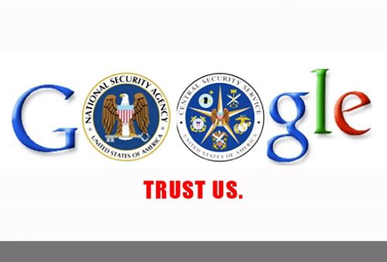 Gã khổng lồ tìm kiếm một mực cam đoan rằng Google không hợp tác với NSA. Vậy tại sao những người lãnh đạo của Google và NSA lại liên lạc với nhau nhiều tới vậy?