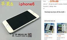 iPhone 6 nhái đang được rao bán!