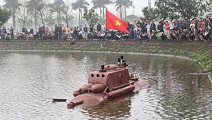 Vì sao Bộ KH&CN không cấp phép thử nghiệm tàu ngầm Trường Sa 01?