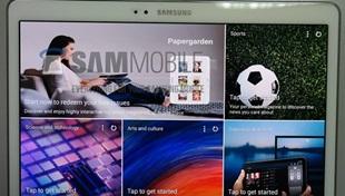 Tablet màn hình 2K của Samsung lộ ảnh thực tế