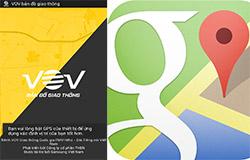 """Bản đồ VOV """"ăn đứt"""" Google Maps?"""