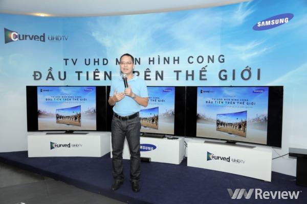 Samsung chia sẻ về công nghệ TV màn hình cong UHD