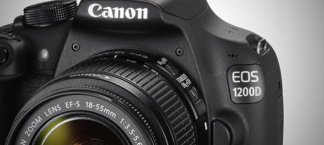 Đánh giá nhanh máy ảnh Canon 1200D