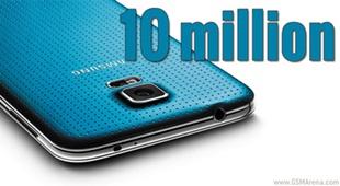 10 triệu Galaxy S5 xuất xưởng sau 25 ngày