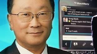 """CEO BlackBerry nói """"không"""" với smartwatch"""