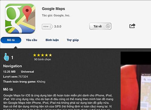 Cách sử dụng Google Maps offline trên iOS và Android