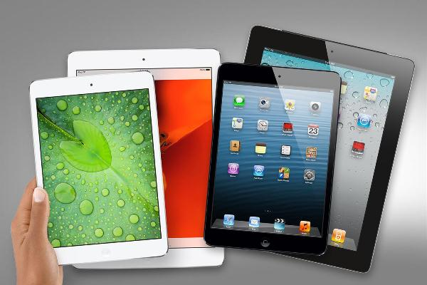 Doanh số iPad 9.7 inch vượt mặt iPad mini