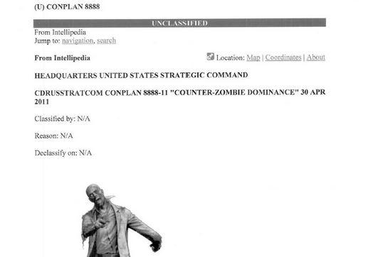Lầu Năm Góc lên kế hoạch chống... xác sống zombie 1109384