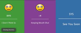 Những từ viết tắt phổ biến trong chatroom