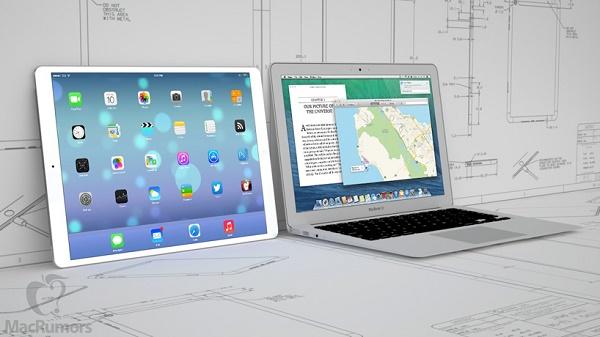 Rò rỉ ảnh chụp đầu tiên của iPad Pro 12.9 inch?