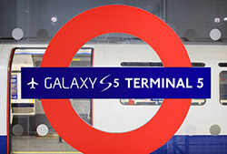 Samsung đổi tên sân bay tại Anh thành Galaxy S5