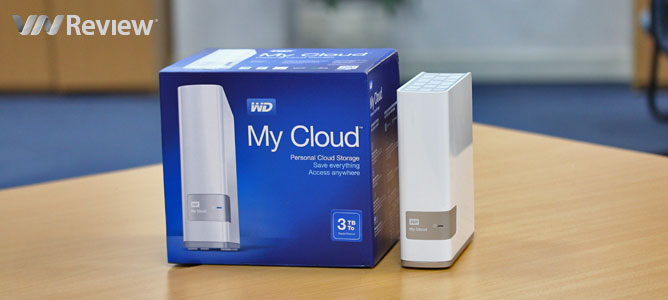 Tặng bạn đọc ổ cứng mạng WD My Cloud 3TB