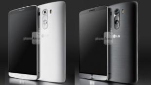 So kích thước LG G3 với các smartphone đầu bảng
