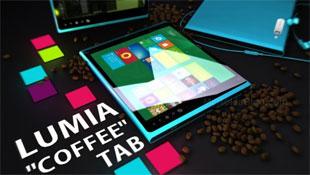 Máy tính bảng Nokia Lumia Coffee Tab