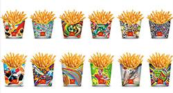 Thi đấu World Cup với... hộp khoai tây chiên McDonald
