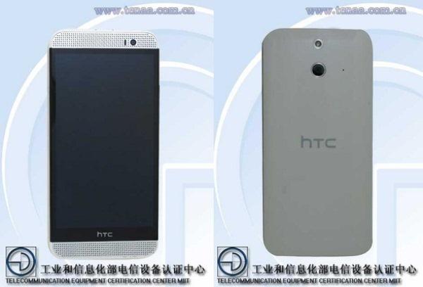 HTC One M8 bản vỏ nhựa lộ ảnh thực tế