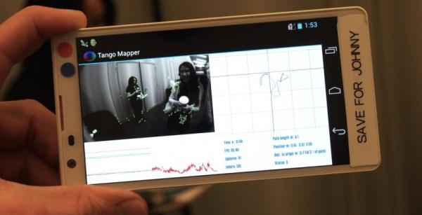 Google Projet Tango sẽ có thêm tablet, được sản xuất vào tháng Sáu