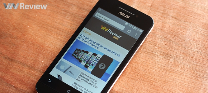 Pin 1.200 mAh của Asus Zenfone 4 trụ được bao lâu?