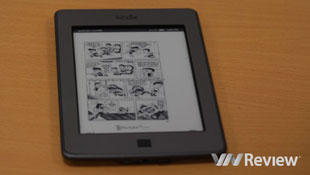 Làm sao đọc file .PDF trên Kindle Touch?