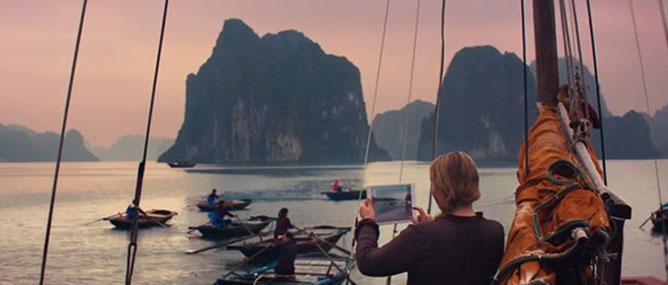 Việt Nam nên thơ trong quảng cáo iPad Air
