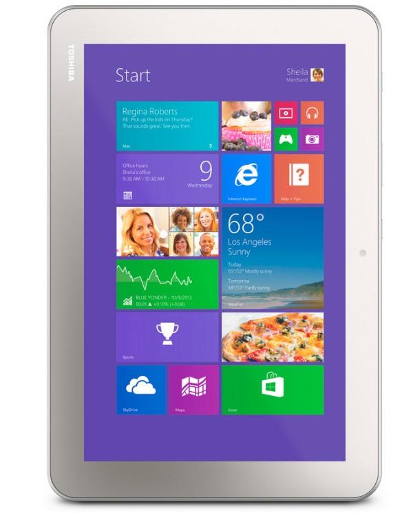 Toshiba ra ba tablet mới, giá rẻ