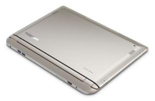 Toshiba ra laptop Satellite Radius lai tablet, xoay 360 độ