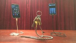 Dây sạc giúp smartphone của bạn... bay lửng lơ