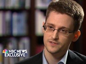 Edward Snowden trong phỏng vấn kênh truyền hình NBC