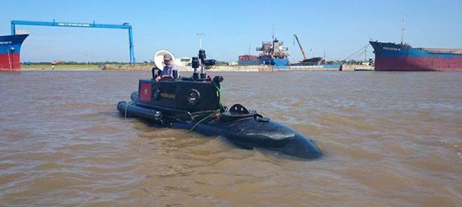 Tàu ngầm Trường Sa đã lặn dưới biển 30 phút!