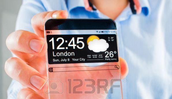 Sắp có smartphone màn hình trong suốt?