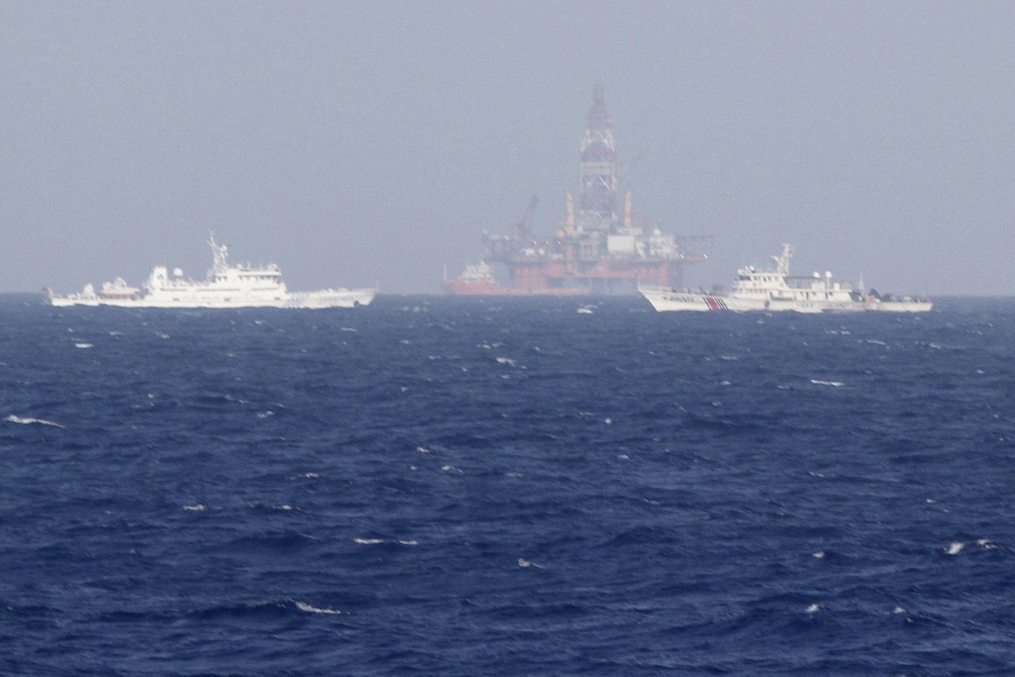 Giàn khoan Hải Dương 981 vẫn hoạt động trái phép trong vùng biển Việt Nam