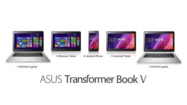 ASUS ra laptop kết hợp smartphone chạy cả Android và Windows