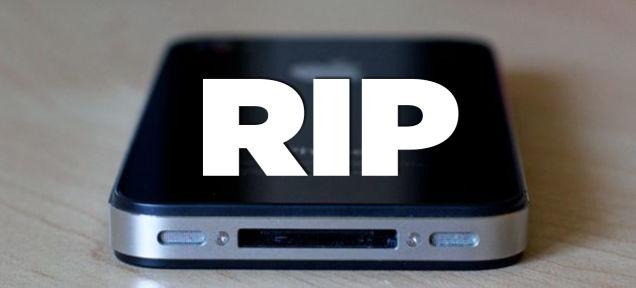 Vĩnh biệt iPhone 4!