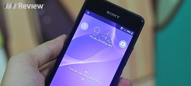 Đánh giá điện thoại nghe nhạc Sony Xperia E1
