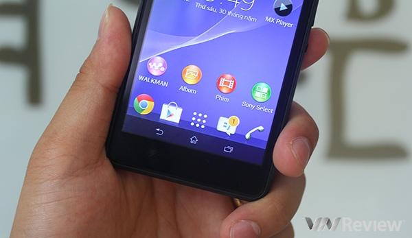 Đánh giá điện thoại Sony Xperia E1