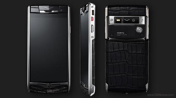 Vertu Signature Touch: Smartphone đẳng cấp dành cho giới đại gia