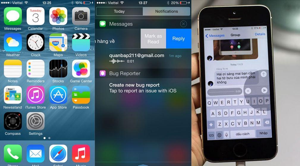 Người dùng Việt thích thú dùng thử iOS 8 beta