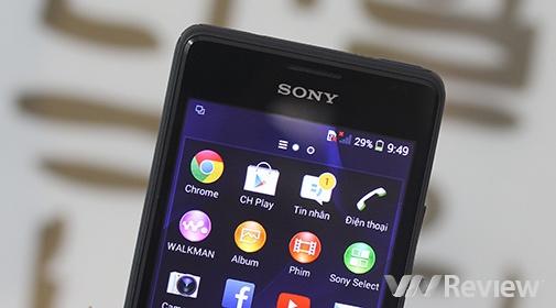 Đánh giá Sony Xperia E1