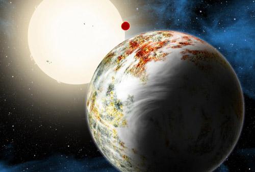 Tìm ra phiên bản khổng lồ của Trái Đất