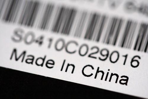 """Hàng """"made in China"""" mất dần chỗ đứng trên thị trường"""