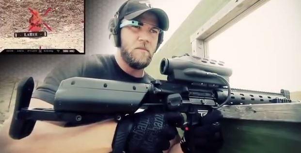 Google Glass kết hợp với súng ngắm sẽ nguy hiểm cỡ nào?