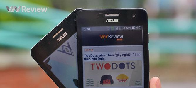 Trên tay 2 phiên bản Asus Zenfone 5 (A500 và A501) xách tay