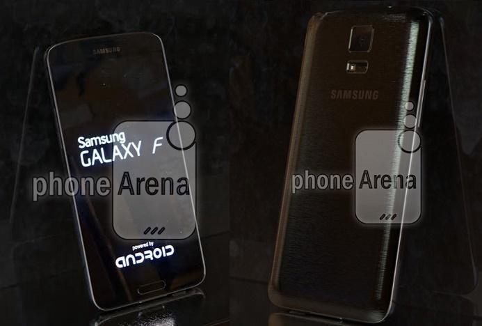 Ảnh thật Galaxy F dùng vỏ kim loại, màn hình 2K