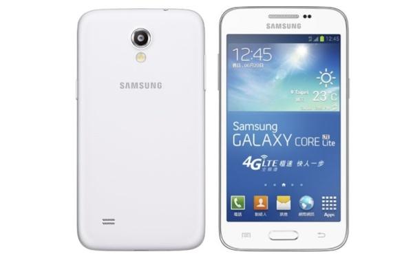 Samsung ra Galaxy Core Lite, màn WVGA, hỗ trợ LTE