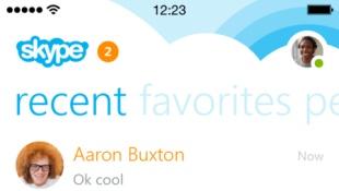 Skype cho iPhone phiên bản 5.0 có nhiều thay đổi lớn