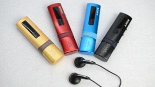 Máy nghe nhạc Sony B183F nhiều màu sắc về Việt Nam